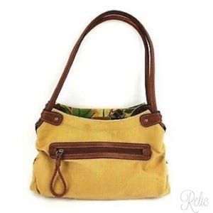 Relic Canvas & Leather Shoulder Bag